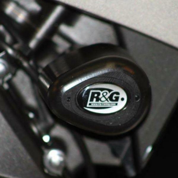 Pare-carter & tampons R&G Racing Tampons De Protection Aero Honda CBR600RR (07-08)