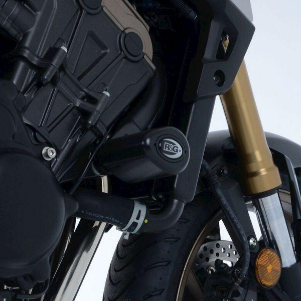 Pare-carter & tampons R&G Racing Tampons De Protection Aero Indian FTR1200 (19-21)