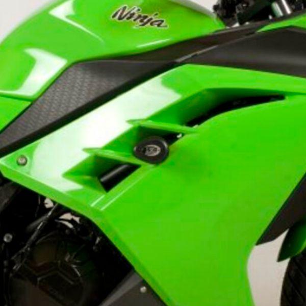 Pare-carter & tampons R&G Racing Tampons De Protection Aero Kawasaki Ninja 300 (13-17)