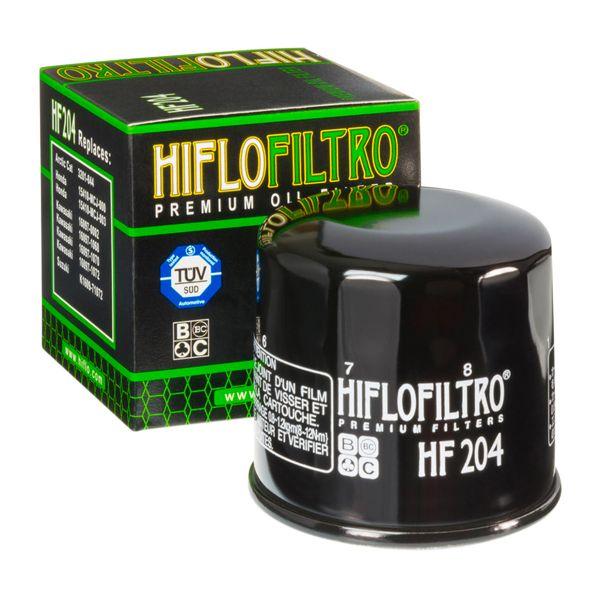 Filtre à huile Hiflofiltro Filtre à huile Hiflofiltro HF204 Honda/Kawasaki/Triumph/Yamaha