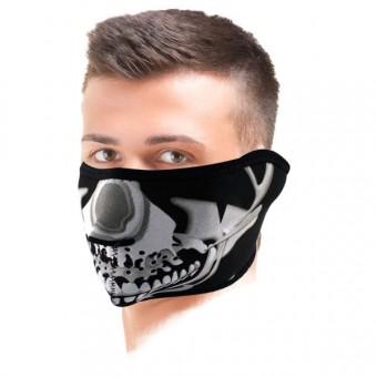Tours De Cou Moto Zanheadgear Chrome Skull