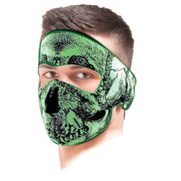 Zanheadgear Glow In The Dark Skull