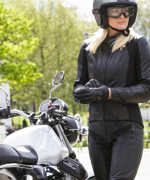 Accessoires moto été femme