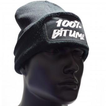 Bonnet Moto 100% Bitume Beanie Black
