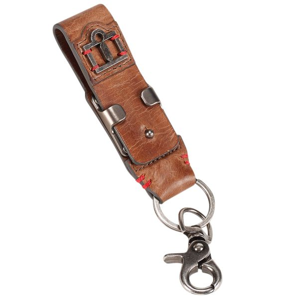 Cadeaux ICON 1000 Leather Belt Loop Keychain