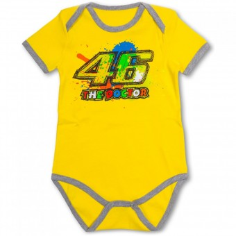 Cadeaux VR 46 Baby Body Yellow VR46