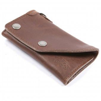 Cadeaux Helstons Portefeuille Leather Brown