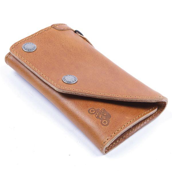 Cadeaux Helstons Portefeuille Leather Tan