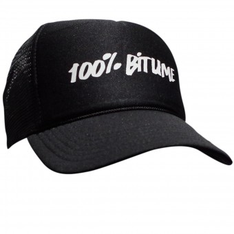 Casquettes Moto 100% Bitume Cap Asphalt Black