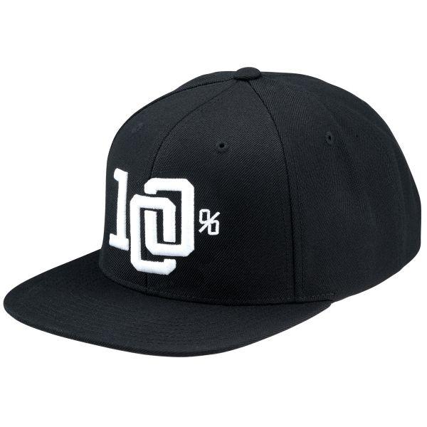 Casquettes Moto 100% College Hat Black