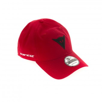 Casquettes Moto Dainese Dainese 9 Twenty Canvas Strapback Cap Red