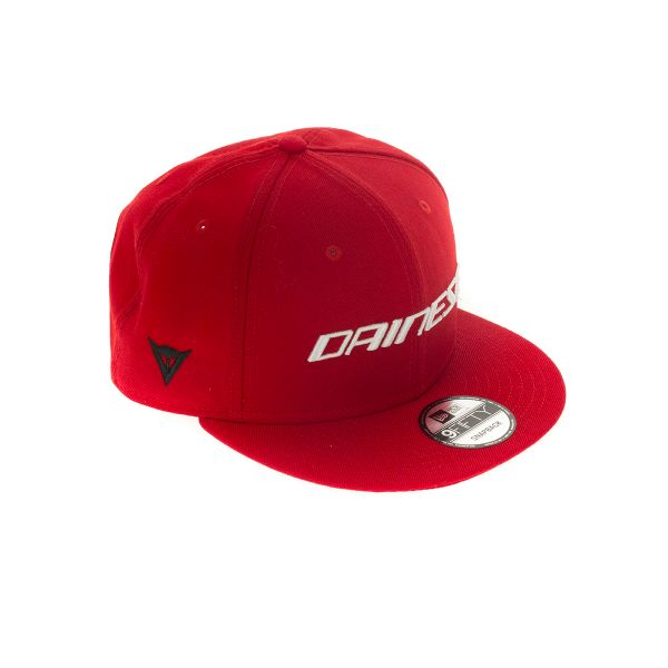 Casquettes Moto Dainese Dainese LP 9 Fifty Diamond Era Snapback Red