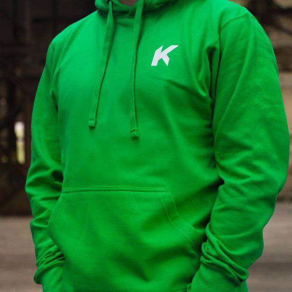 Kikaninac Sweat Hoodie Supermot Vert