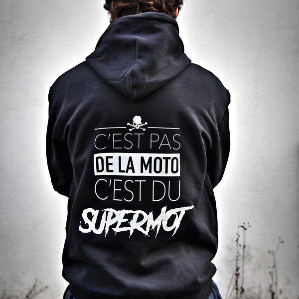 Pulls Moto Kikaninac Sweat Hoodie Supermot