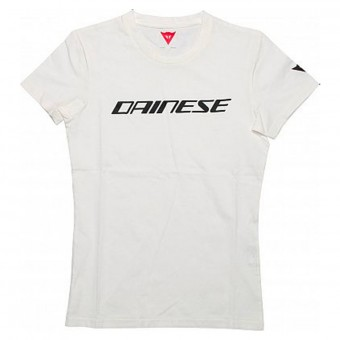 T-Shirts Moto Dainese Dainese Lady Black White