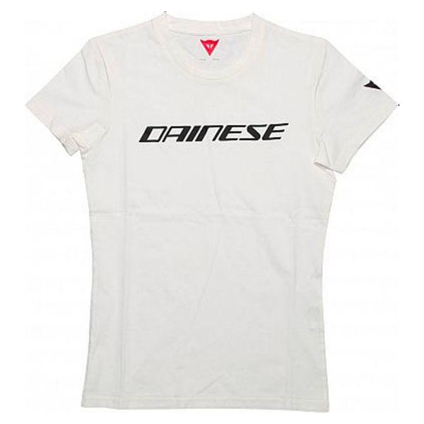 T-Shirts Moto Dainese Dainese Lady Black White