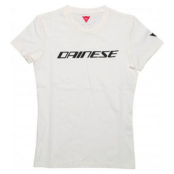 T-Shirts Moto Dainese Dainese T-Shirt White Black