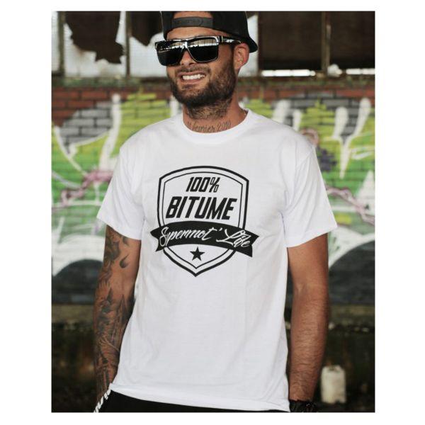 T-Shirts Moto 100% Bitume Supermot Life