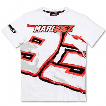 T-Shirts Moto Marquez 93 T-Shirt White MM93