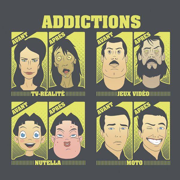 Gaaz Addictions (Gris Fonce)