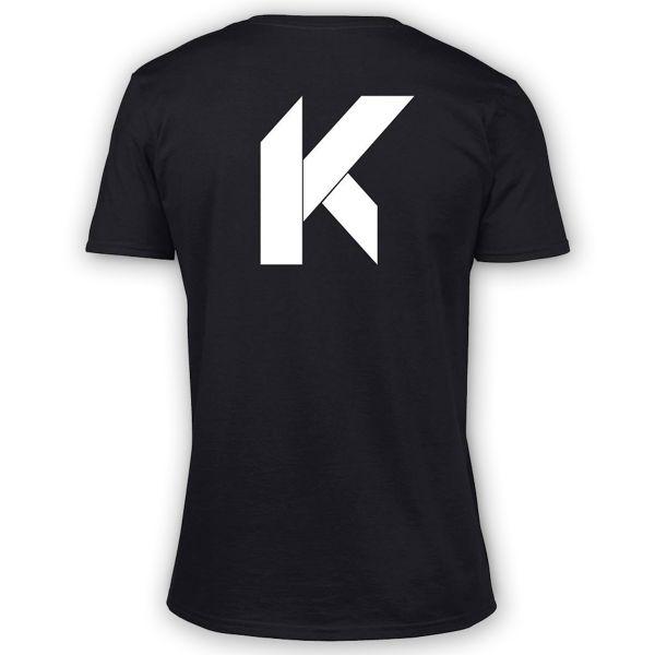T-Shirts Moto Kikaninac Big K Black