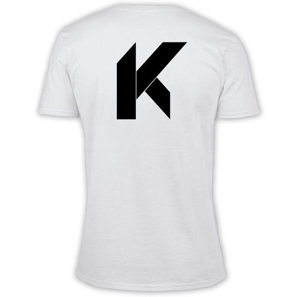 T-Shirts Moto Kikaninac Big K White