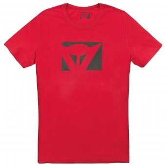 T-Shirts Moto Dainese Color New Red
