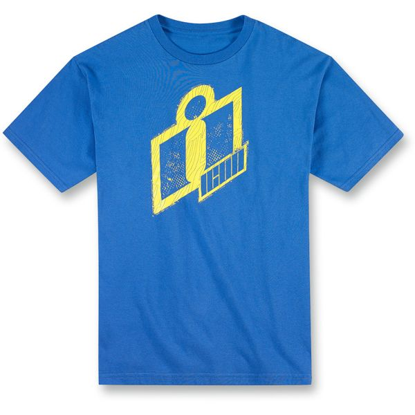 T-Shirts Moto ICON Double Up Tee Blue