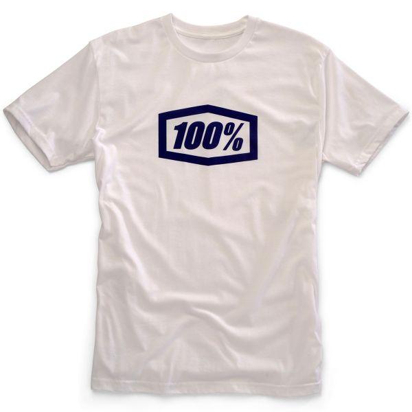 T-Shirts Moto 100% Essential White