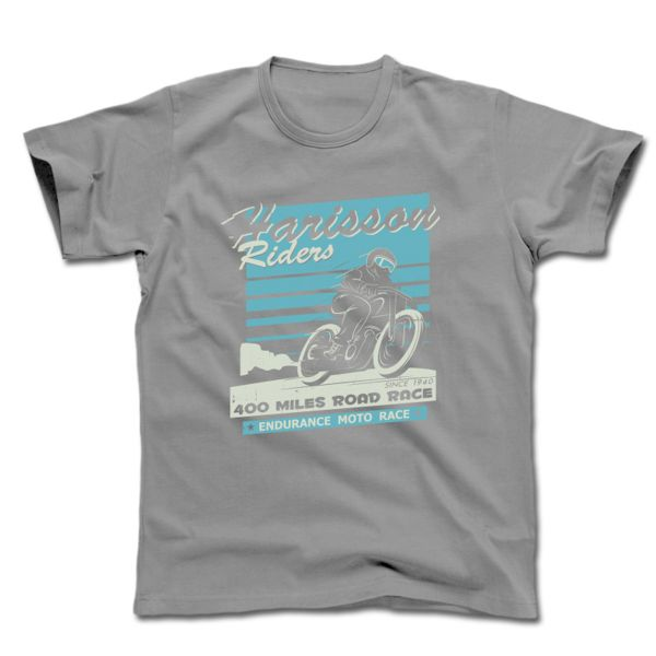 T-Shirts Moto HARISSON H Riders