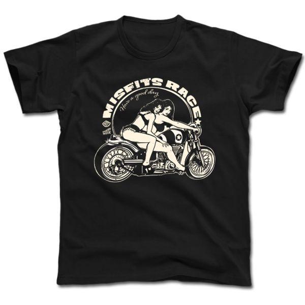 T-Shirts Moto HARISSON Misfits
