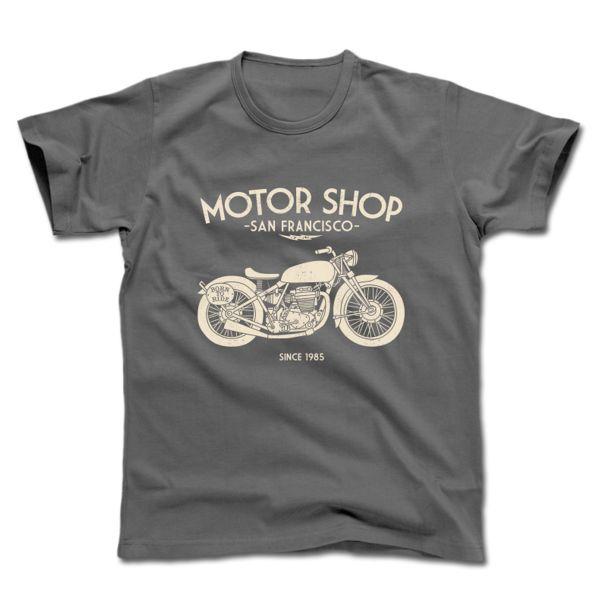 T-Shirts Moto HARISSON Motor Shop