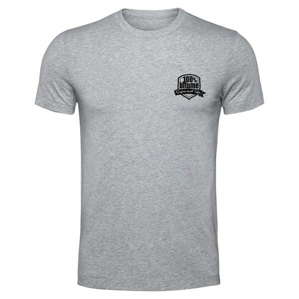 T-Shirts Moto 100% Bitume Supermot Life Grey