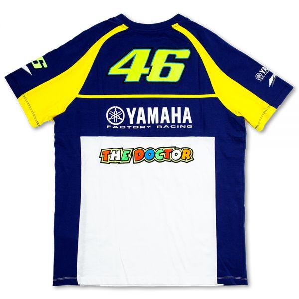 VR 46 T-Shirt Blue Royal Yamaha VR46
