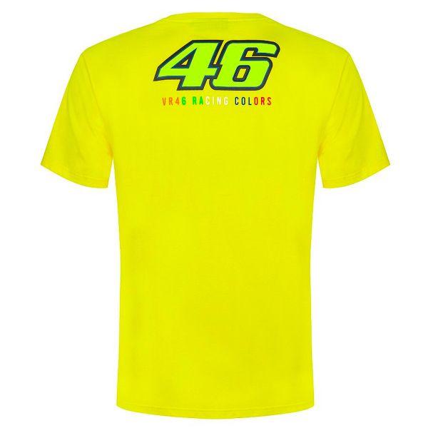 VR 46 T-Shirt Classic Stripes Yellow