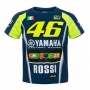 T-Shirts Moto VR 46 T-Shirt Kid Racing Yamaha VR46 Multicolore