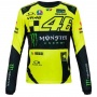 T-Shirts Moto VR 46 T-Shirt Manches Longues Monster VR46 Jaune Fluo