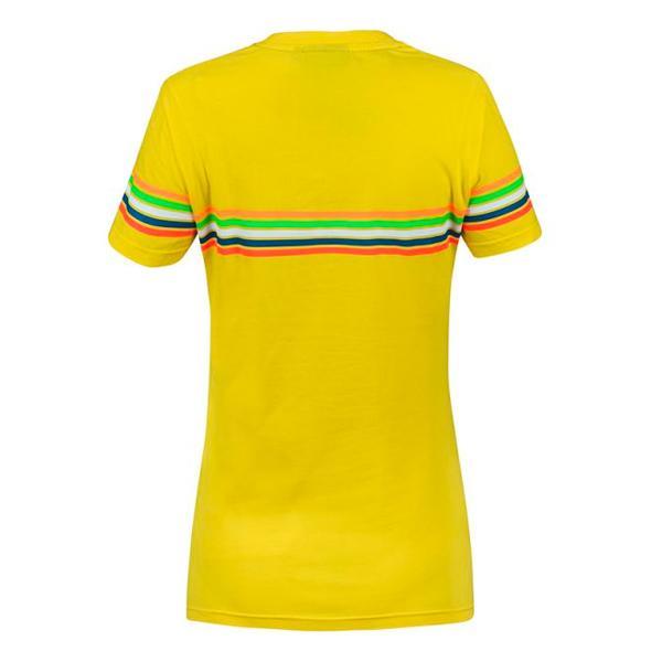 VR 46 T-Shirt Stripes Lady VR46