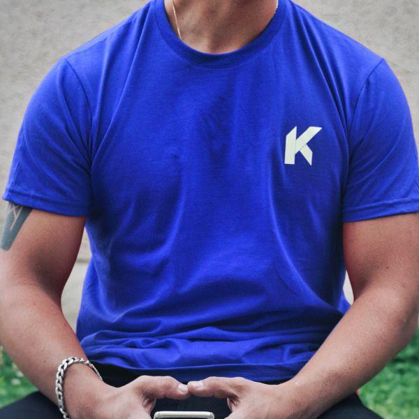 Kikaninac T-Shirt Supermot Bleu