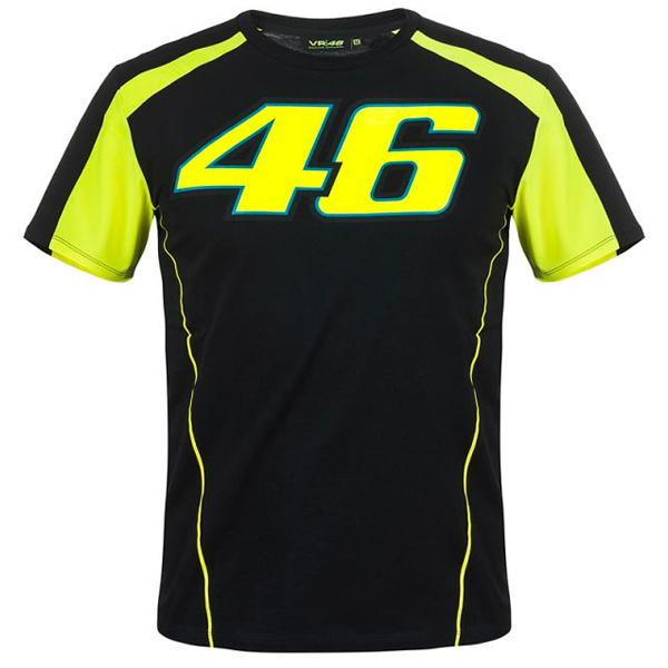 T-Shirts Moto VR 46 T-Shirt VR46 Race Noir