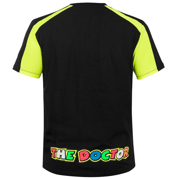 VR 46 T-Shirt VR46 Race Noir