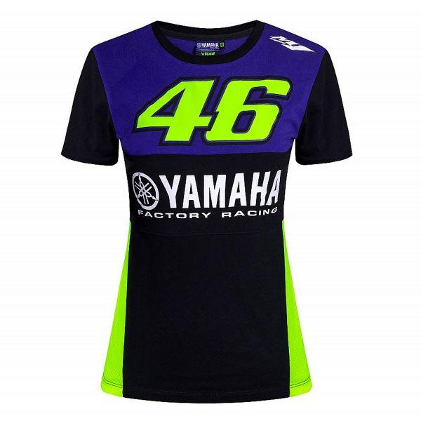 T-Shirts Moto VR 46 T-Shirt Woman Yamaha Dual Racing