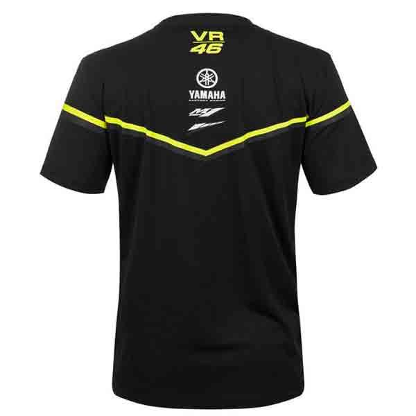 VR 46 T-Shirt Yamaha VR46 Noir