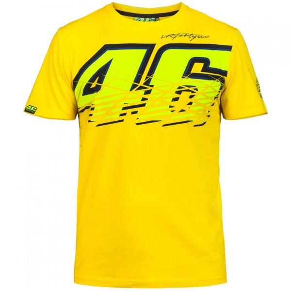T-Shirts Moto VR 46 T-Shirt Yellow VR46