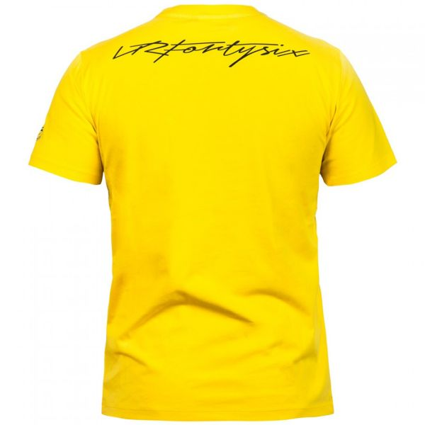 VR 46 T-Shirt Yellow VR46