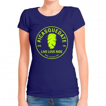 T-Shirts Moto iCasque Tee-Shirt Lady icasquedate3