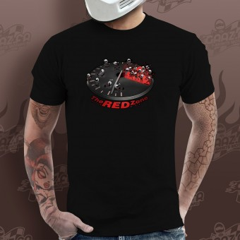 T-Shirts Moto Gaaz The Red Zone (Noir)