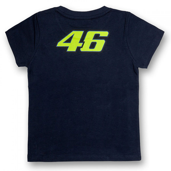 VR 46 T-Shirt Kid The Doctor Blue VR46