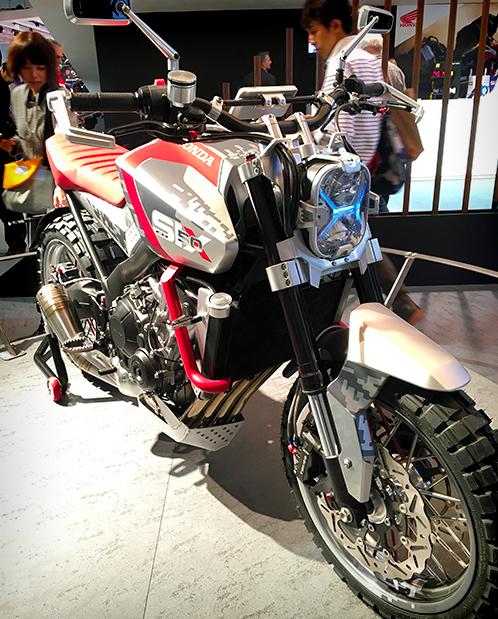 Concept Honda CBSix50